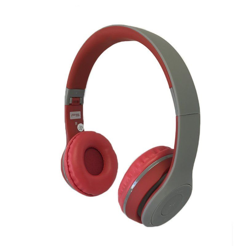 Ver Omega Freestyle casco Bluetooth FH0915GR GrisRojo