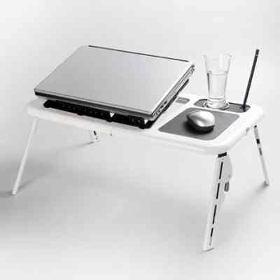 Accesorios portatiles omega mesa para portatil blanco - Mesas para ordenadores portatiles ...