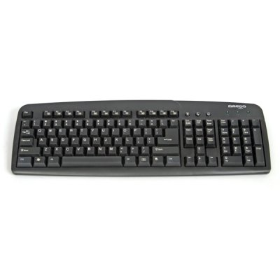 Omega Teclado Ingles  Uk  Usb Multimedia Negro