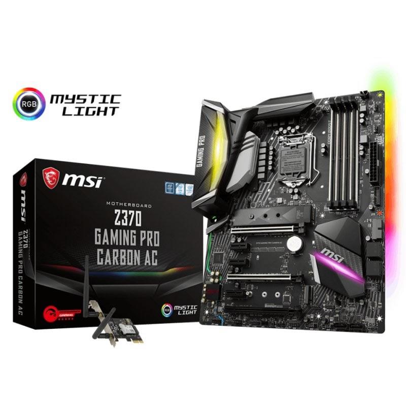 Ver MSI Z370 GAMING PRO CARBON