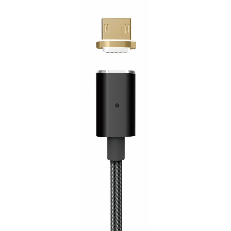 Ver PLATINET Cable Magnetico MICRO USB USB 1M Negro
