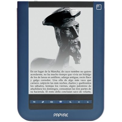 Papyre 622 Ebook Epd 6 Tactil   Wifi 15gb Basic