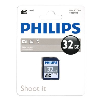 Philips Phsd3210 Secure Digital Sdhc 32gb Clase 10