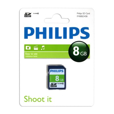 Philips Phsd810 Secure Digital Sdhc 8gb Clase 10