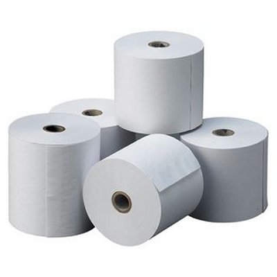 Ver ROLLO PAPEL TERMICO 80X80X12 MM PACK 5 UDS