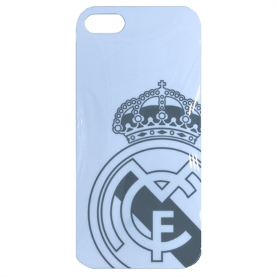 Real Madrid Carcasa iPhone 5 Blanca Escudo