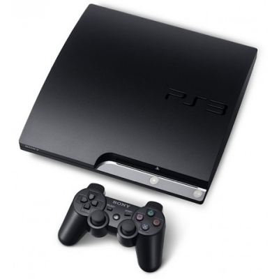 Sony Ps3 Play Station 3 Slim 160gb Negro