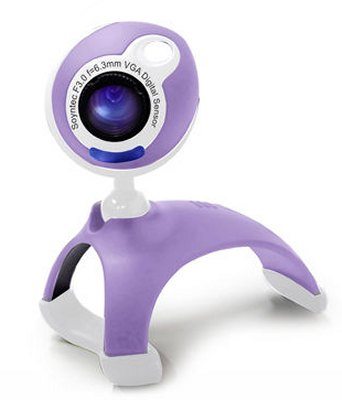 Soyntec Webcam Joinsee 351 Violeta