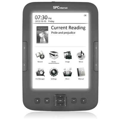 Spc 5607n Ebook Reader Paperlight 6 4gb Gris
