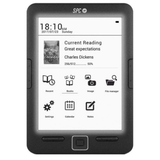 SPC 5609N eBook Reader Dickens Light 6 8GB
