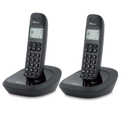 Spc 7259n Telf Dect Duo Ag20 Ml Id Lcd Negro