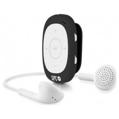 Ver SPC 8584N Reproductor MP3 4GB Radio Clip Negro