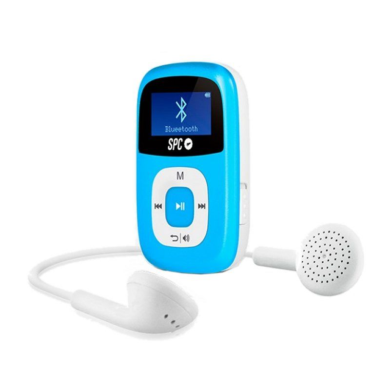 Ver SPC Mp3 8GB Bluetooth FM Pantalla de 1 Azul