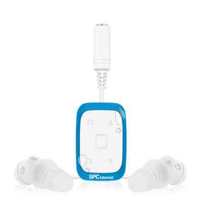 Spc Reproductor Mp3 4gb Acuatico 8334a Azul