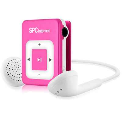 Spc Reproductor Mp3 Clip 8242 2gb Rosa