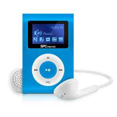 Spc Reproductor Mp3 Clip 8544 4gb Azul