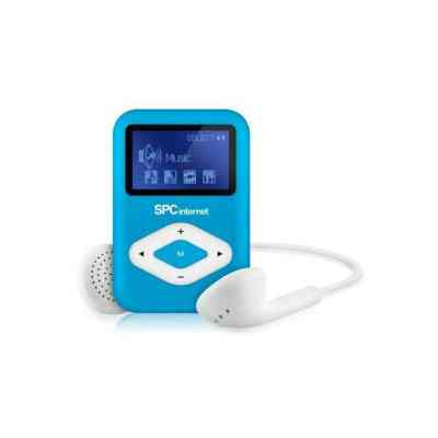 Spc Reproductor Mp3 Clipgo 8434a 4gb Azul