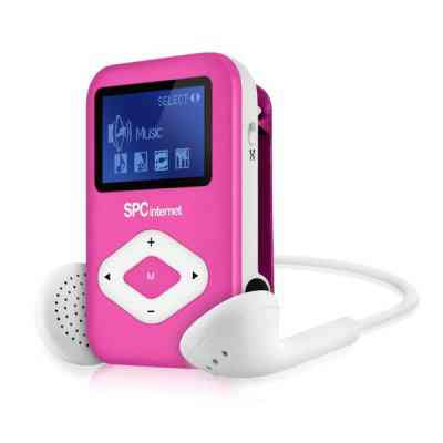 Spc Reproductor Mp3 Clipgo 8434p 4gb Rosa