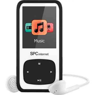 Spc Reproductor Mp4 Radio 8488n 8gb Negro