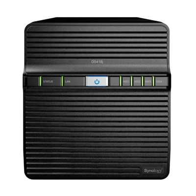 Ver SYNOLOGY DS418j NAS 4Bay Disk Station
