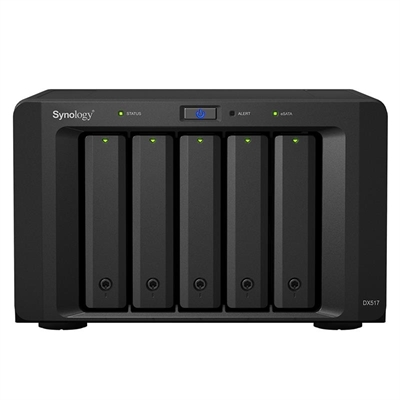 Ver SYNOLOGY DX517 Expansion Unit 5Bay Disk Station