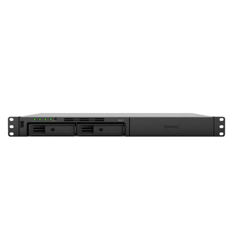Ver SYNOLOGY RS217 NAS 2Bay Rack Station
