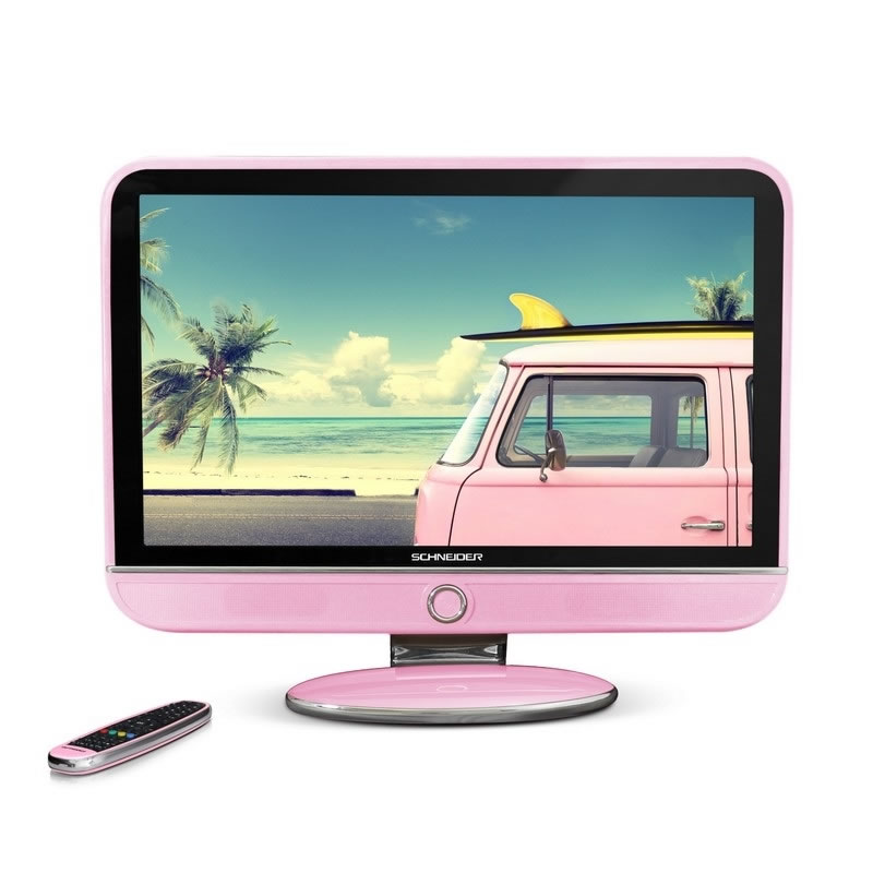 Schneider FEELING S TV 32 LED FHD USB HDMI rosa
