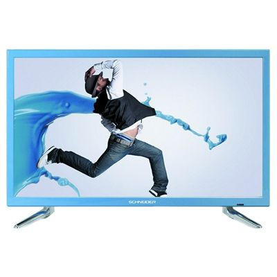 Schneider RAINBOW TV 24 LED FHD USB HDMI azul