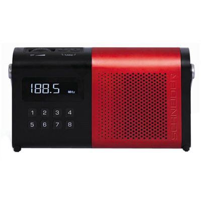 Schneider Radio MOVIMO Rojo