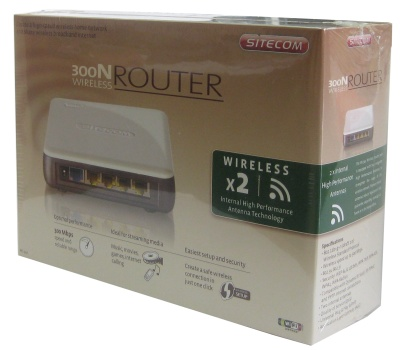 Sitecom Wl-341 Router Inalambrico 300n