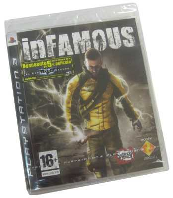 Sony Infamous Juego Para Ps3
