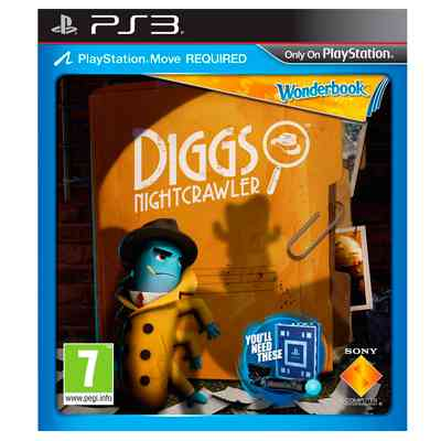 Sony Juego Ps3 Diggs Night Crawler