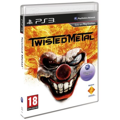 Sony Juego Ps3 Twisted Metal