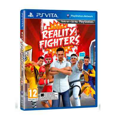 Sony Juego Reality Fighters Psvita