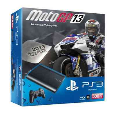 Sony Ps3 500 Gb   Moto Gp 13