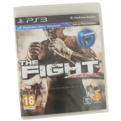 Sony Ps3 Juego The Figth Move Edition  16