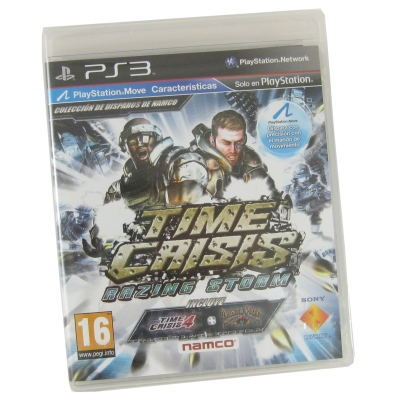 Sony Ps3 Juego Time Crisis Rizing Storm  18