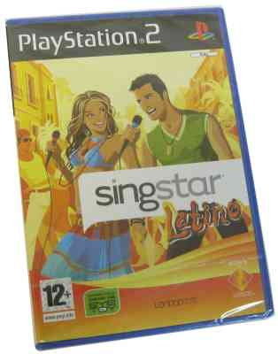 Sony Singstar Latino Para Play Station 2