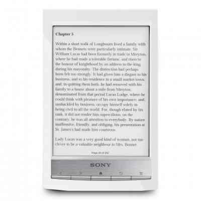 Sony Ebook Reader 6 Wifi 2gb Blanco   Lpi