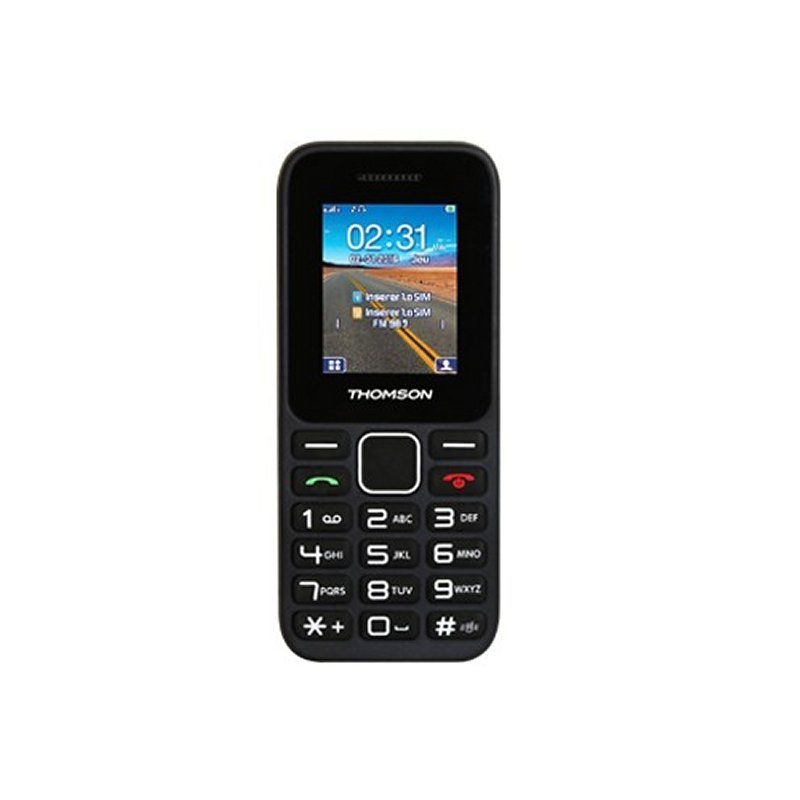 Ver THOMSON T11 Movil Senior Dual Sim Negro