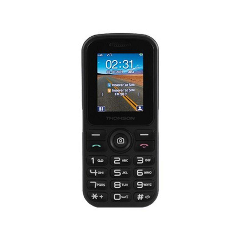 Ver THOMSON T18 Movil Senior 2xSim Negro