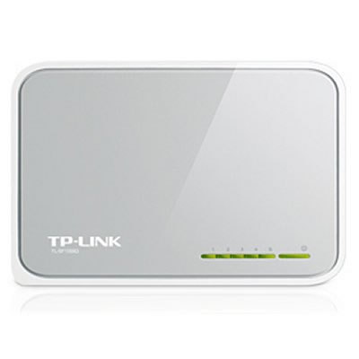 Ver TP-LINK Switch 5P 10100Mb mini sobremesa plastico