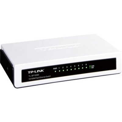 Ver TP-LINK Switch 8P 10100Mb mini sobremesa plastico