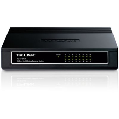 Ver TP-LINK Switch sobremesa 16P 10100Mbps plastico