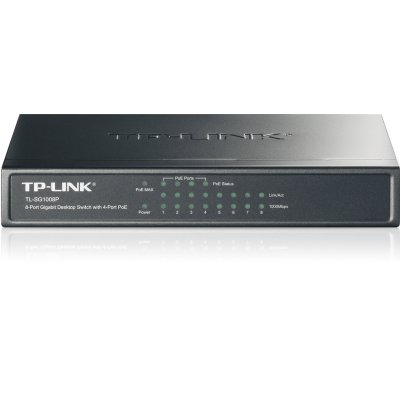 Tp-link Tl-sg1008p Switch 8p Gigabit  4x Poe