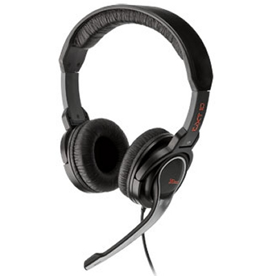 Ver Trust GXT 10 Gaming auriculares   microfono negro