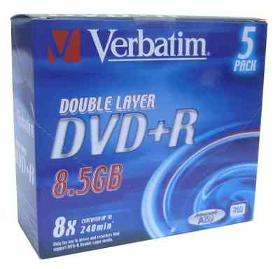 Verbatim Dvd R 85gb Doble Capa 8x Pack 5uds  Lpi