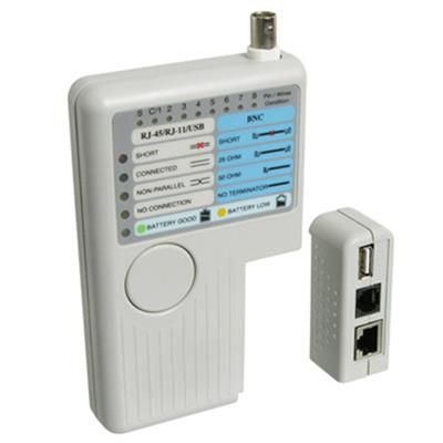 WP Cable Tester RJ111245 BNC and USB