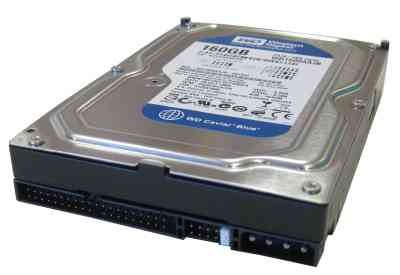 Western Digital Wd1600 160gb 35 7200rpm 8mb A100