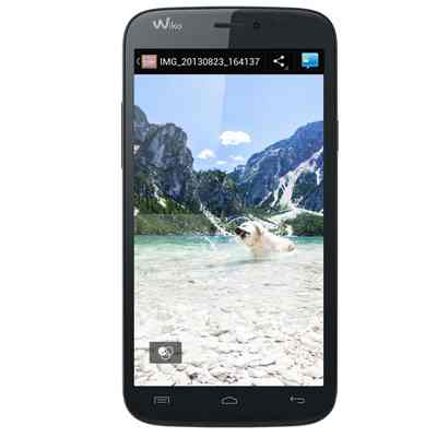 Wiko Darkside 57 Hd Ips Q12ghz 1 16gb Azuldark